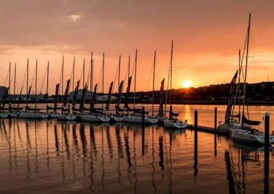 port-solent-sunset